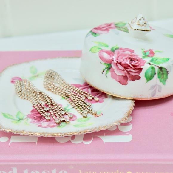 Berkley Rose ROYAL Stafford Butter Dish Vanity Set
